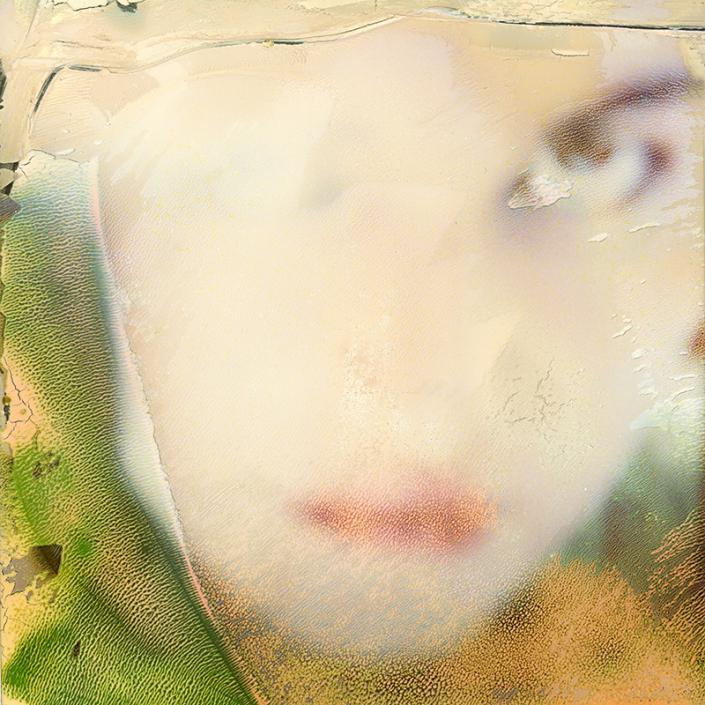 Luigi Viscido - Polaroid: Woman in green