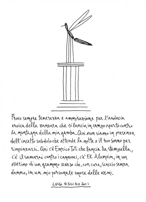 Luigi Viscido - Nell'anorma: Zanzara eroica
