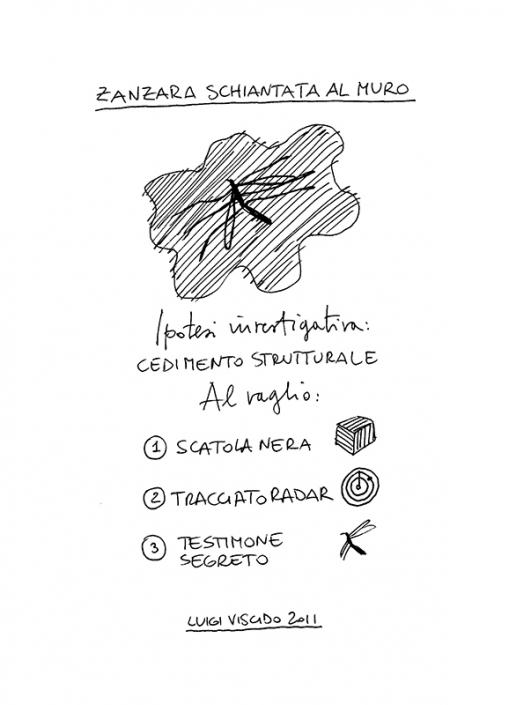 Luigi Viscido - Nell'anorma: Zanzara schiantata